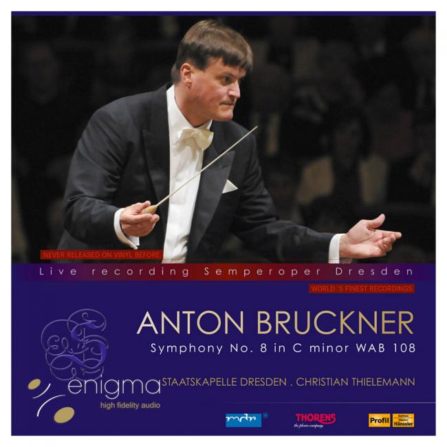 Vinyl Thorens Anton Bruckner Symphonie No. 8