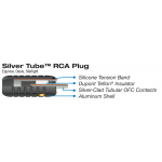 Wireworld Konektor RCA Silver Tube 8.5mm