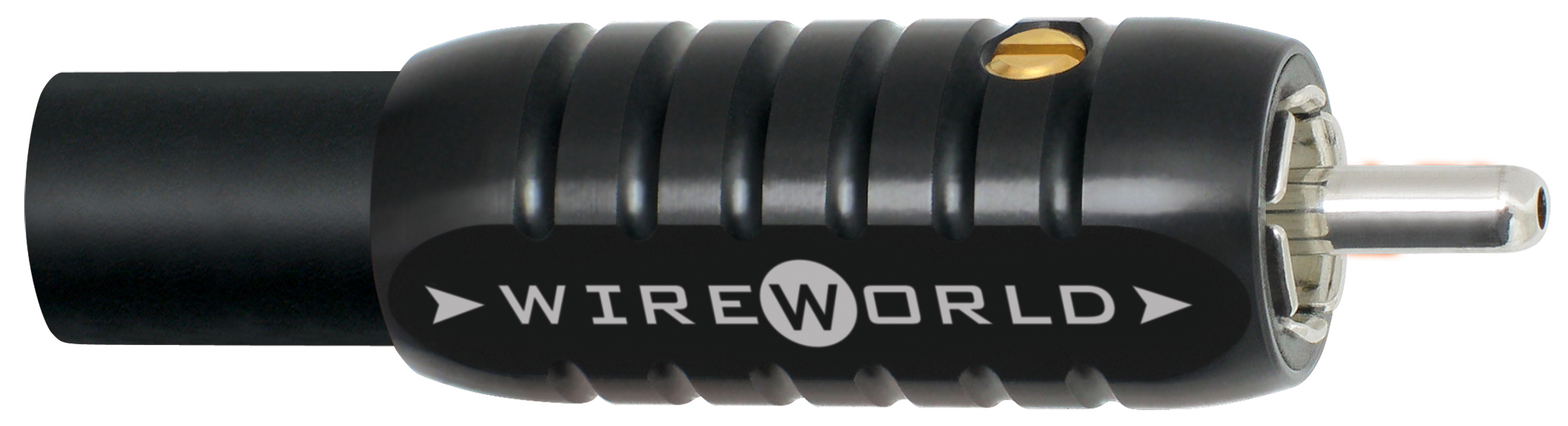 Wireworld Konektor RCA Silver Tube 11mm