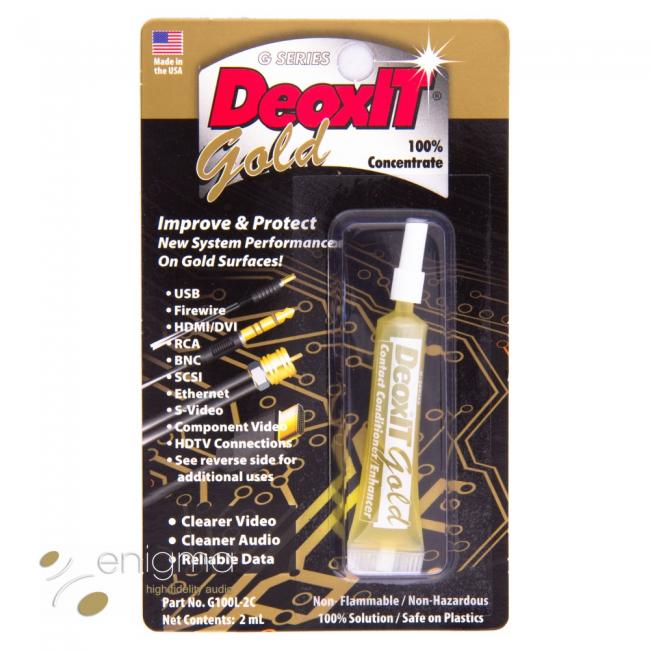 Čistiaci prípravok na kontakty DeoxIT Gold