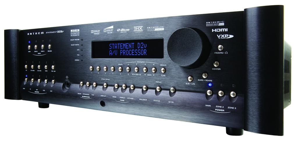 AV Procesor Anthem D2v