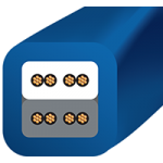 Kábel Zdrojový Wireworld Mini Stratus (MSP)