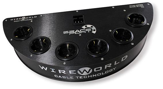 Zdrojové zásuvky s filtračným obvodom Wireworld Spaceport