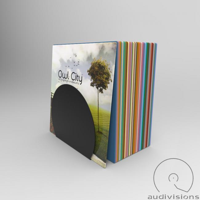 Stojan na LP Audiovisions okrúhly