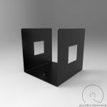 Stojan na LP Audiovisions štvorcový