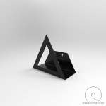 Nástenný držiak na LP Audiovisions trojuholníkový
