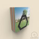 Nástenný držiak na LP Audiovisions šesťhranný