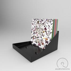 Box na LP Audiovisions obdĺžnikový pre 90 platní