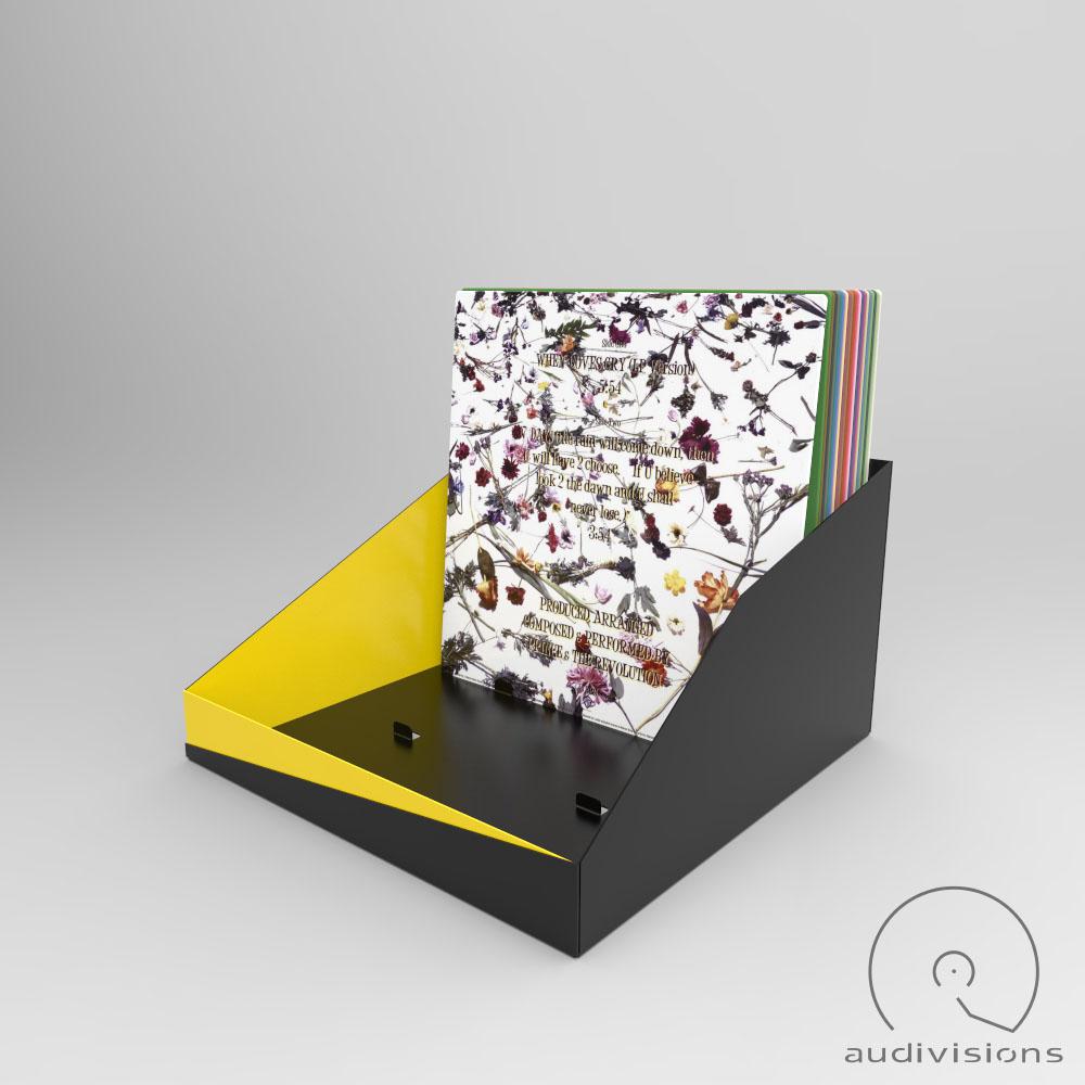 Box na LP Audivisions amorfný pre 90 platní