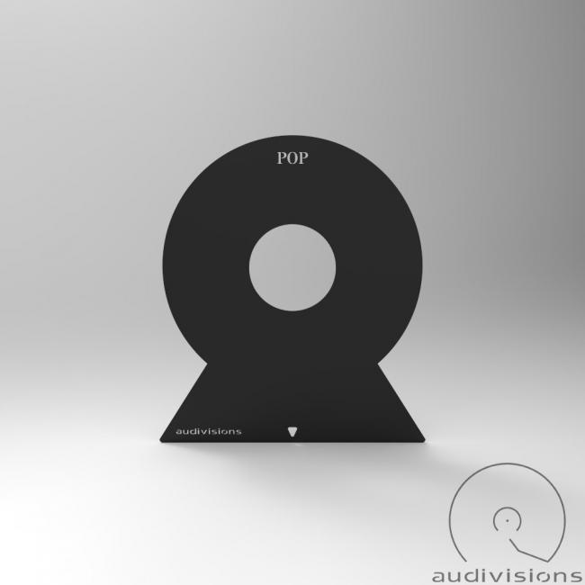 Vertikálny organizér na LP podľa žánrov Audivisions - Žáner Pop