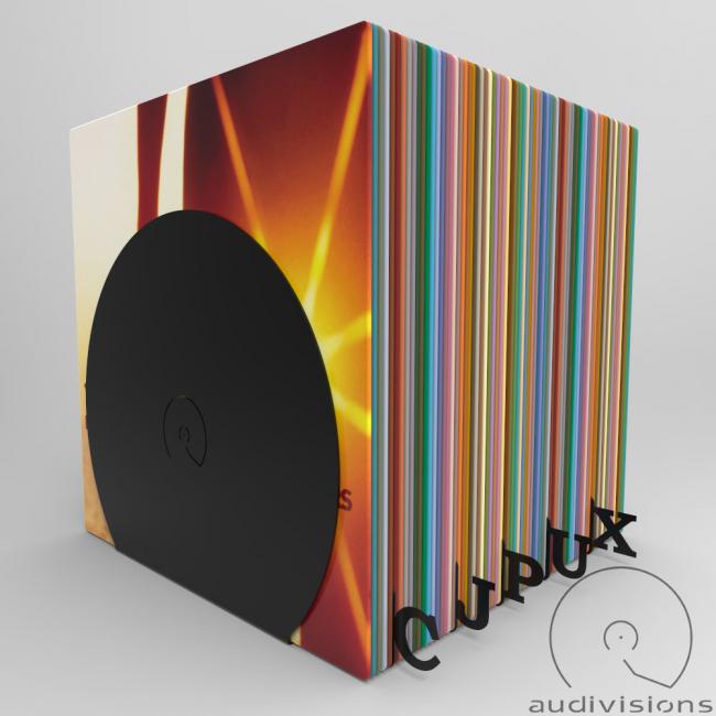 Horizontálny organizér na LP podľa abecedy Audivisions - Celá abeceda A - Z