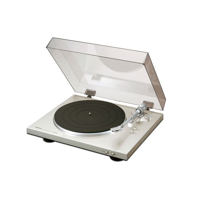 Gramofón Denon DP-300F - Strieborná