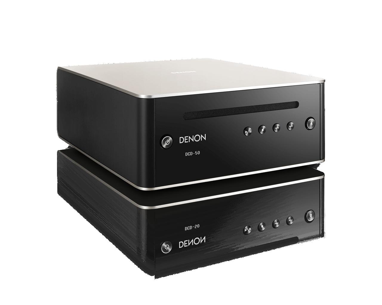 CD prehrávač Denon DCD-50 Čierno-strieborná