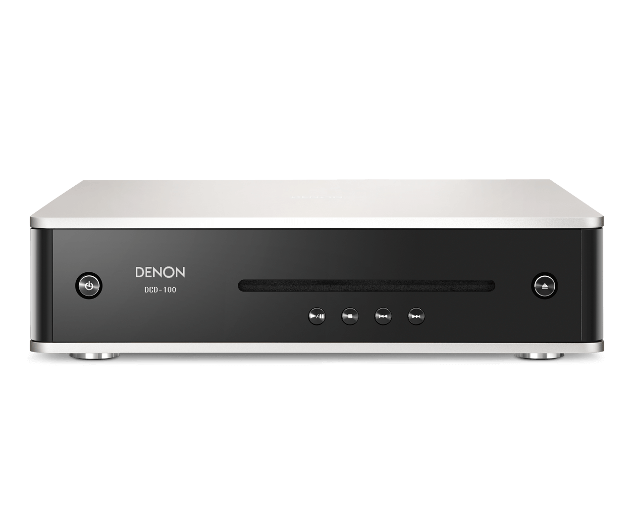 CD prehrávač Denon DCD-100 Čierno-strieborná