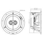 Vstavaný reproduktor Focal 100 IC 6 ST