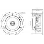 Vstavaný reproduktor Focal 100 ICW 5