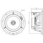 Vstavaný reproduktor Focal 100 ICW 6