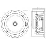Vstavaný reproduktor Focal 100 ICW 8