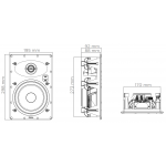 Vstavaný reproduktor Focal 100 IW 6