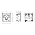 Vstavaný reproduktor Focal 300 IC LCR 5 Biela