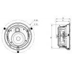 Vstavaný reproduktor Focal 300 ICW 4