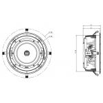 Vstavaný reproduktor Focal 300 ICW 8