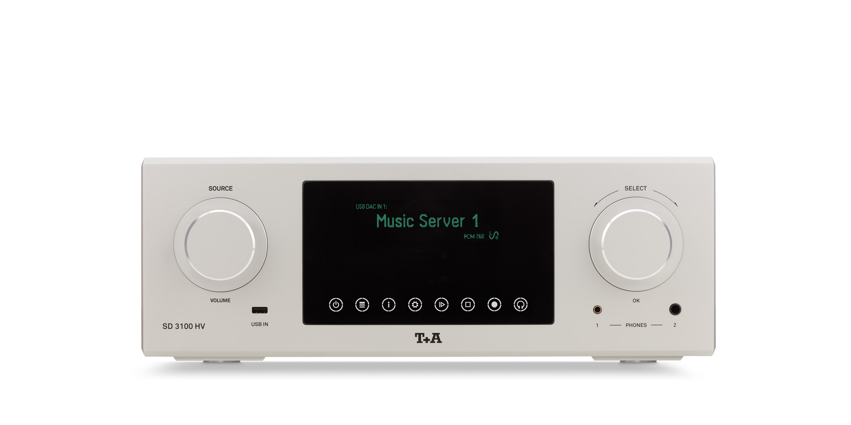 Prevodník Streaming DAC T+A SD 3100 HV