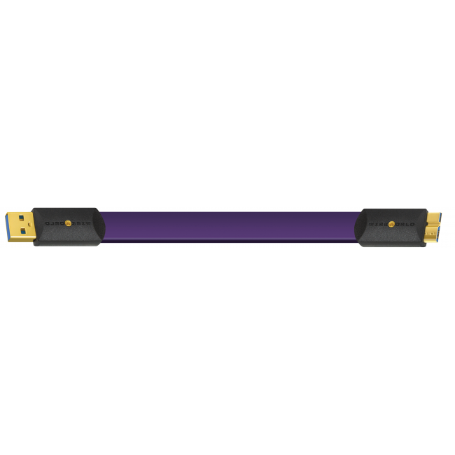 Wireworld Kábel USB 3.0 Ultraviolet 8 (U3AM) A-microB