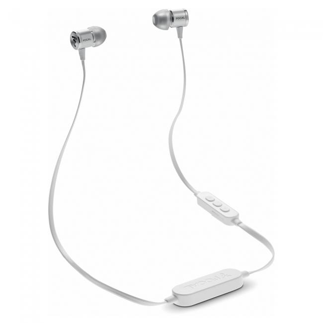 Slúchadlá Focal Spark Wireless - Strieborná