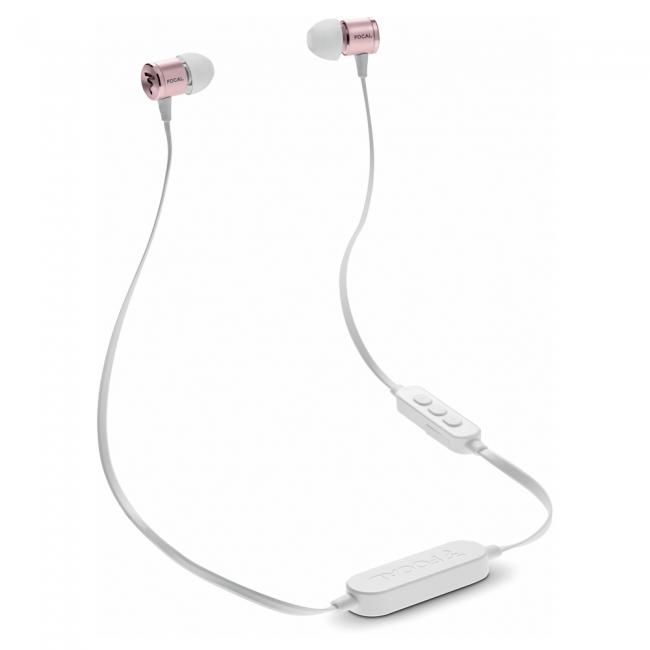 Slúchadlá Focal Spark Wireless - Ružovozlatá