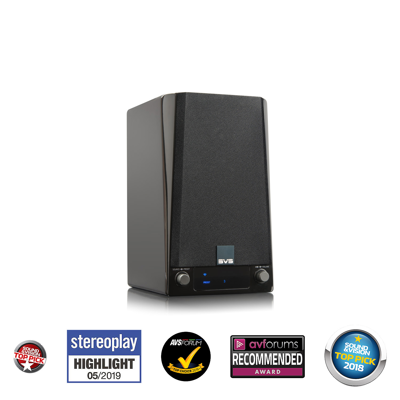 Reproduktor regálový SVS Prime Wireless Speaker System Stereo so zabudovaným streamerom (2ks v balení)