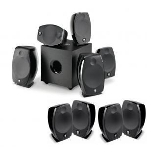 Domáce kino 5.1.6 - Sib EVO Dolby Atmos 5.1.2 + 2 x Sib EVO 2.0 Čierna