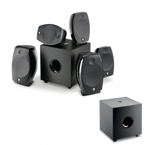 Domáce kino 5.2.2 - Sib EVO Dolby Atmos 5.1.2 + Cub EVO Čierna