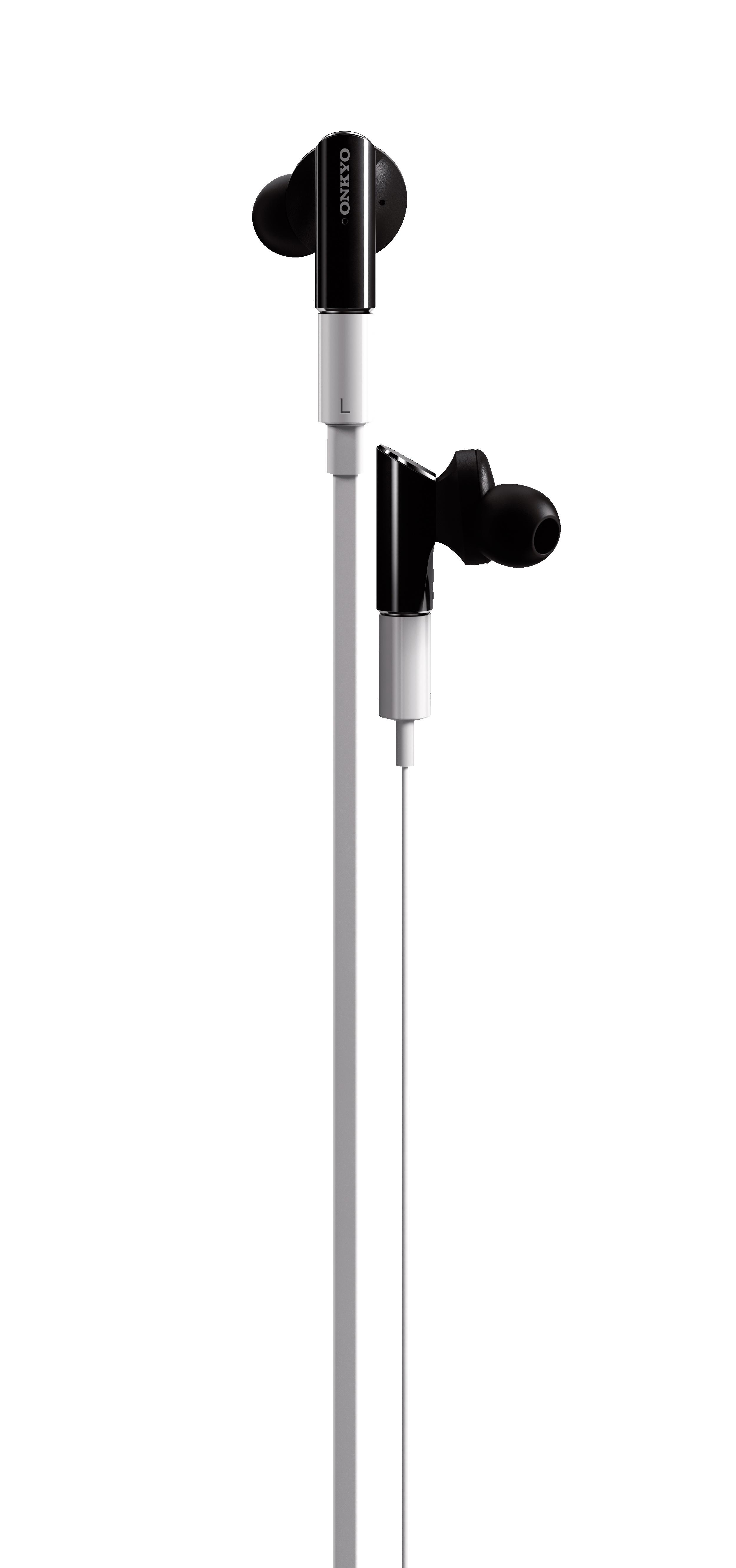Slúchadlá do uší ONKYO IE-FC300 Biela