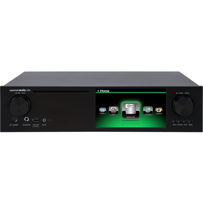 Hi-Res hudobný server Cocktail Audio X45 v prevedení s 4 TB 3,5