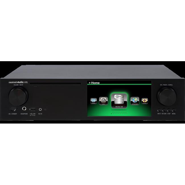 """Hi-Res hudobný server Cocktail Audio X45 v prevedení s 5 TB 2,5"""" pevným diskom"""