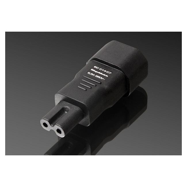 Káblový adaptér GigaWatt IEC320-C7 Plug Adapter