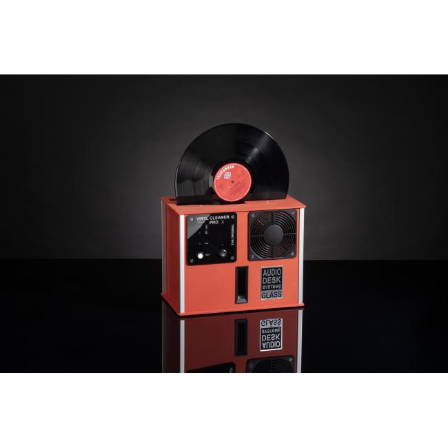 Ultrazvuková práčka ADS Gläss Vinyl Cleaner Pro X - Červená