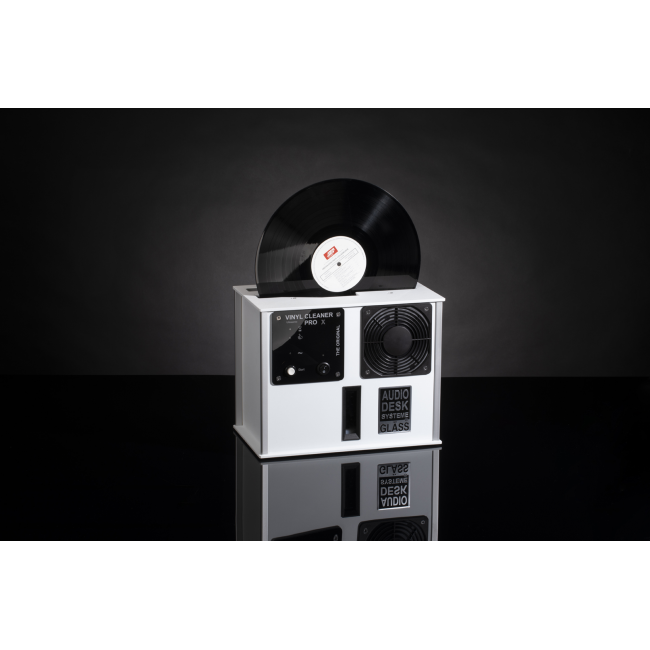 Ultrazvuková práčka ADS Gläss Vinyl Cleaner Pro X - Biela