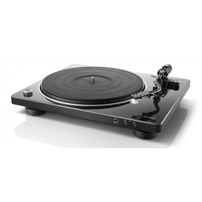 Gramofón Denon DP-450 USB - Čierna