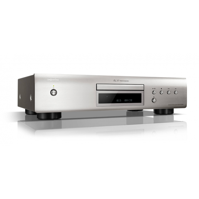 CD prehrávač Denon DCD-600NE - Strieborná