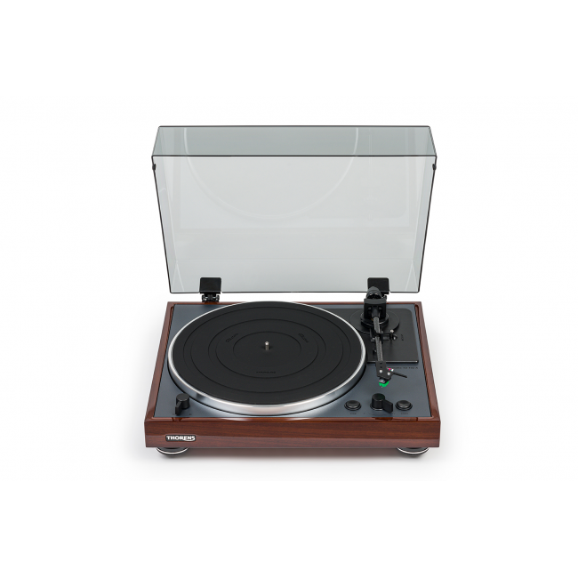 Automatický gramofón Thorens TD 102 A - Orech lesklý