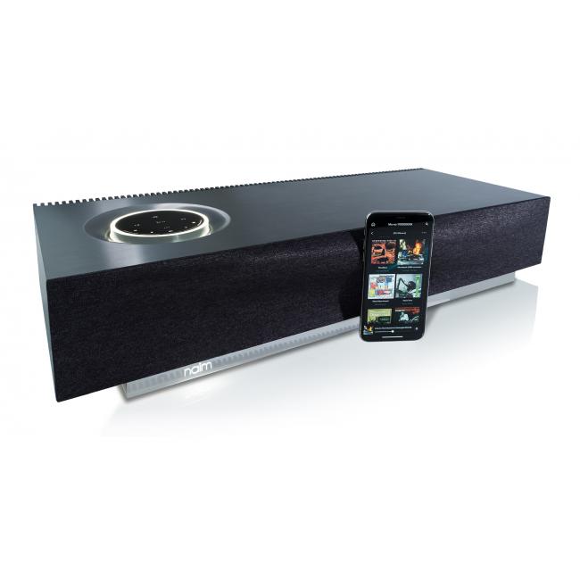 All-in-one bezdrôtový hudobný systém Naim Mu-so 2 Čierna