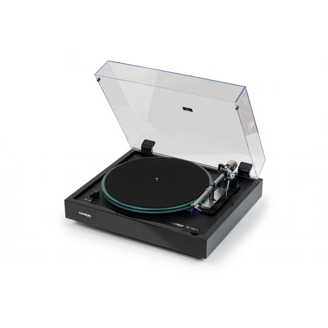Automatický gramofón Thorens TD 148 A - Čierna lesklá