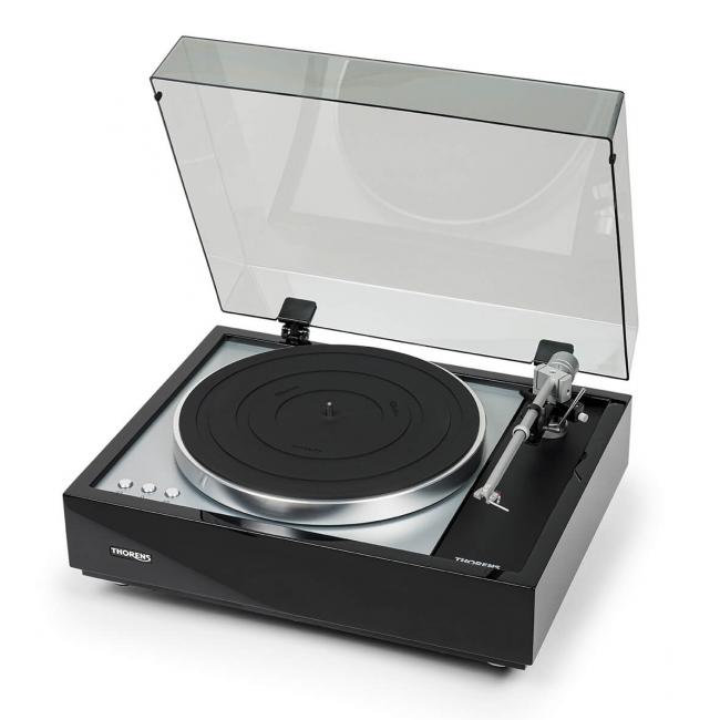 Gramofón Thorens TD 1600 - Čierna lesklá