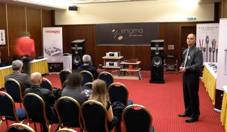 Enigma High Fidelity Audio - Výstava AVDK 2013