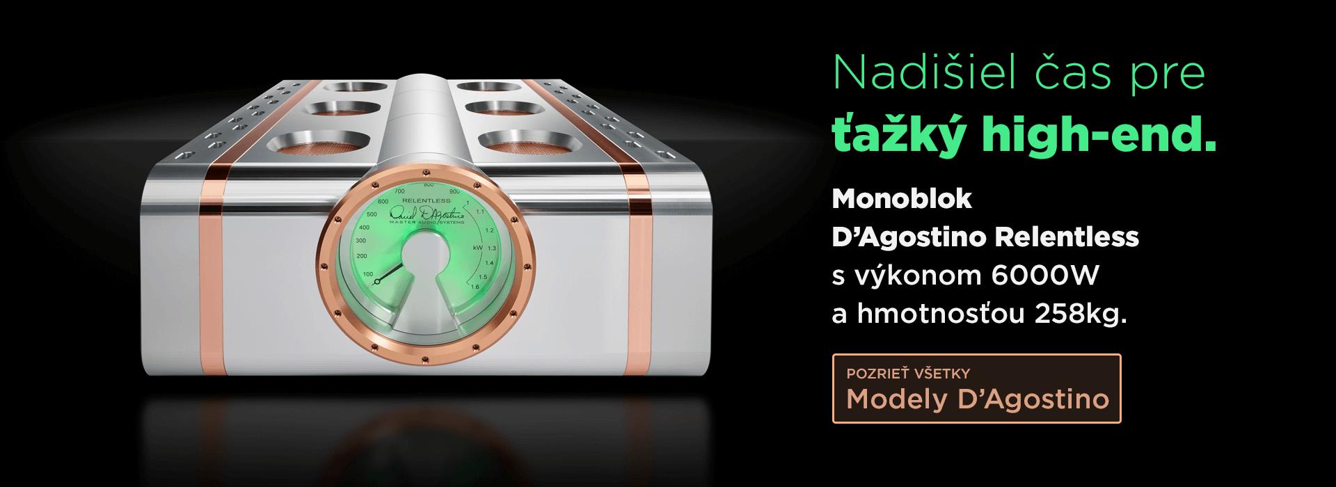 Enigma High Fidelity Audio - Distribútor značky Dan D'Agostino na Slovensku.